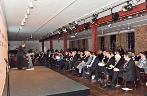 Robert Erdmann und Publikum