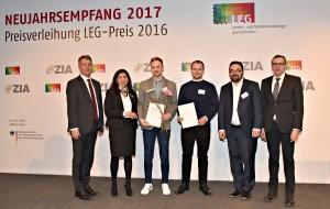 Laudator Chris Kühn, MdB mit Preisträgern