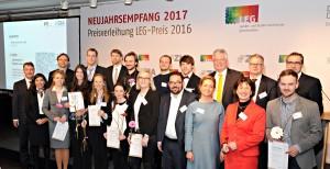 Preisträger LEG-Preis 2016 + Laudatoren