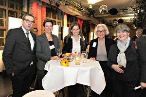 Robert Erdmann, Gabriele Kautz, Tine Fuchs, Prof. Elke Pahl-Weber, Anna Stratmann